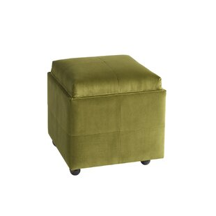 Natick Storage Ottoman by Wrought Studio