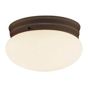 Mushroom 1-Light Flush Mount