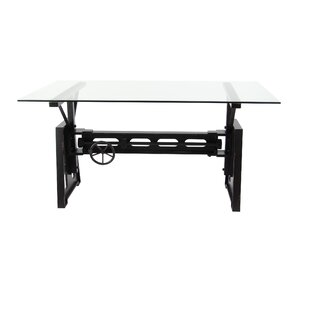 Labarge Modern Rectangular Solid Wood Dining Table