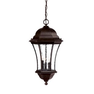 Reviews Prestbury 3-Light Outdoor Hanging Lantern By Charlton Home