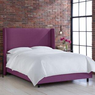Brayden Studio Settles Upholstered Panel Bed