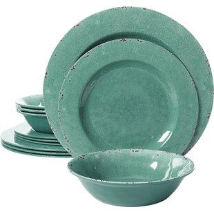 Save to Idea Board  sc 1 st  Wayfair : blue and green dinnerware - pezcame.com