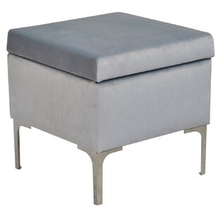 Luxe Storage Footstool By Happy Barok