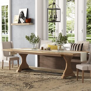 Bleau Trestle Dining Table by Lark Manor Great Reviews