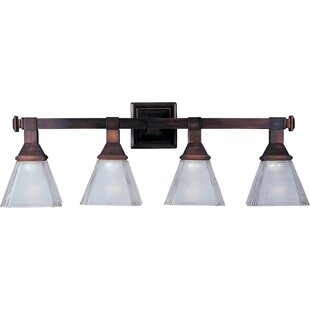 Compare Bevis 4-Light Vanity Light By Three Posts