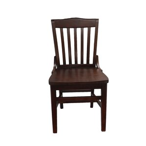 Schoolhouse Solid Wood Dining Chair by JU..