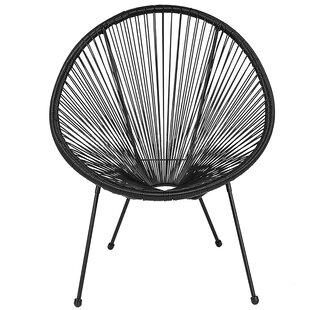 Kadin Round Saucer Papasan Chair by Wrought Studio