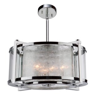 Brayden Studio Crotts 5-Light Semi Flush Mount