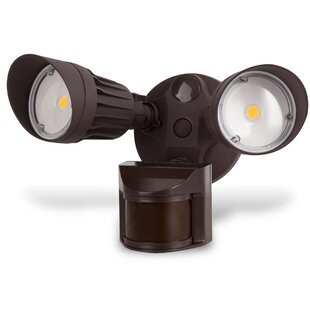 Lanza Security Waterproof 2-Light LED with Motion Sensor