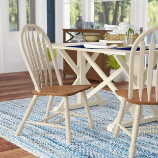 Beachcrest Home Florentia Solid Wood Dining Chair (Set of 2)