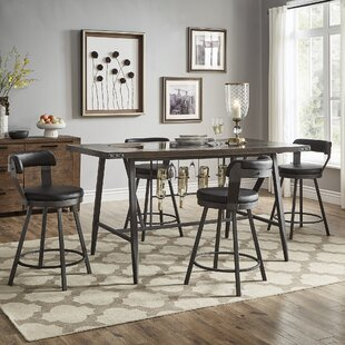 Craighead 5 Piece Counter Height Dining S..
