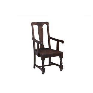 Weston Arm Chair Oak Idea Imports