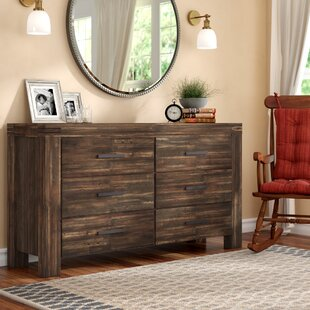 Akers 6 Drawer Double Dresser