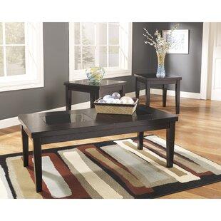 Red Barrel Studio Vic 3 Piece Coffee Table Set