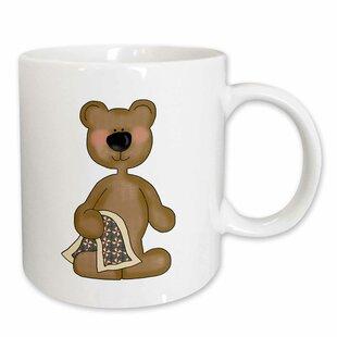 Cute Baby Blankie Blanket Bear Coffee Mug