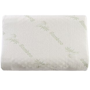 Delphine Contoured Dunlop Latex Standard Pillow by Alwyn Home Top Reviews