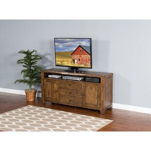 Alsatia Live Edge TV Stand for TVs up to 60