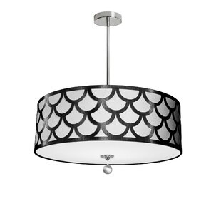 Rosdorf Park Piper 4-Light LED Pendant