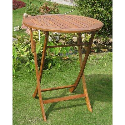 Church Street Solid Wood Bar Table by Breakwater Bay Savings