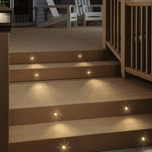 10 Light LED Deck Light By TORCHSTAR Outdoor Lighting