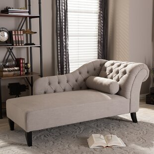 Willa Arlo Interiors Rudd Tufted Chaise Lounge