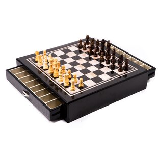 Bolding Chess Table by Darby Home Co