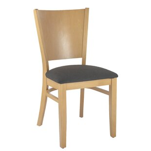 Irons Upholstered Dining Chair (Set of 2) Winston Porter