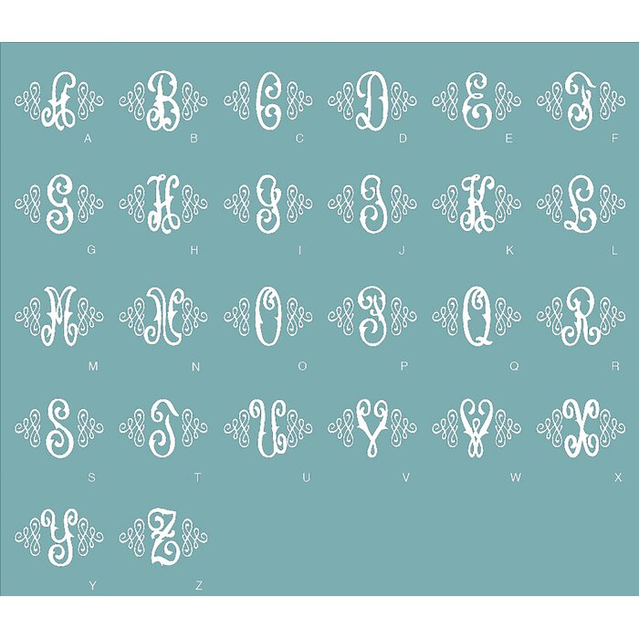 Terrific Lombardi Embroidered Monogram Vanity Stool Creativecarmelina Interior Chair Design Creativecarmelinacom