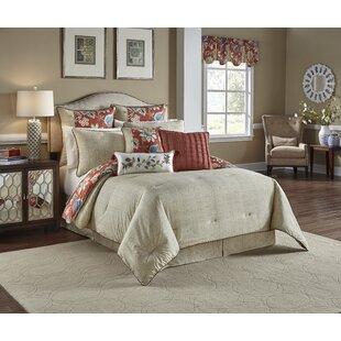 Brighton Blossom Cotton 4 Piece Reversible Comforter Set