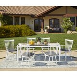 Chenery 7 Piece Indoor/Outdoor Dining Set with Cushions