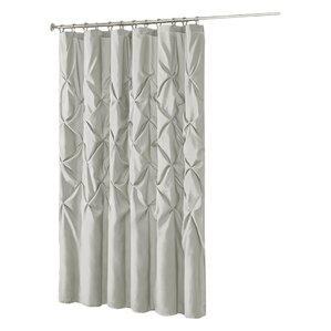 beige and gray shower curtain.  Gray Silver Shower Curtains You ll Love Wayfair