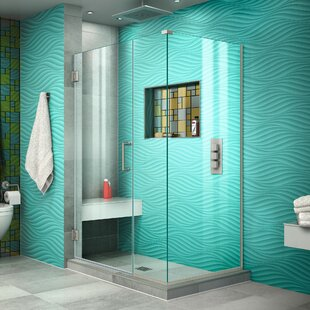 Unidoor Plus 43.5 x 72 Hinged Shower Enclosure by DreamLine