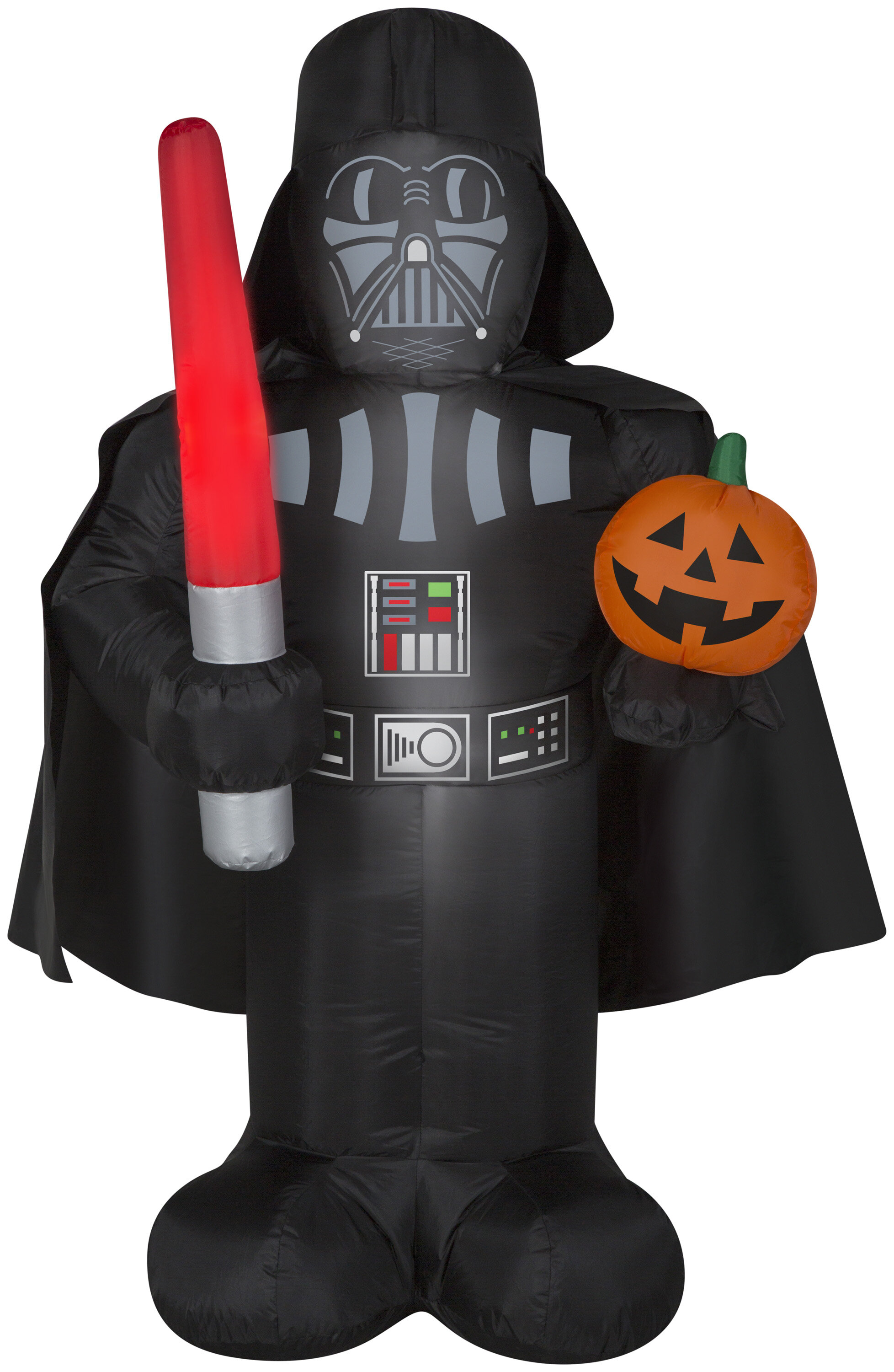 the holiday aisle darth vader inflatable with pumpkin and lightthe holiday aisle darth vader inflatable with pumpkin and light saber md star wars (wm) \u0026 reviews wayfair