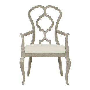 Bernhardt Marquesa Carved Back Upholstered Dining Chair