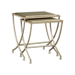 Alize 2 Piece Nesting Tables by House of Hampton