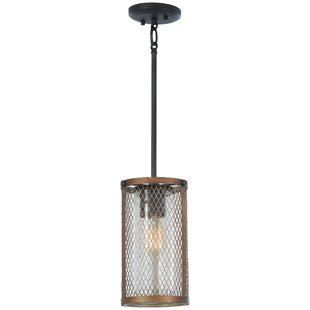 Croy 1-Light Cylinder Pendant by Williston Forge