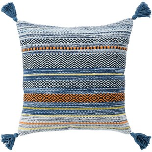 Wrightsville Cotton Throw Pillow Cover
