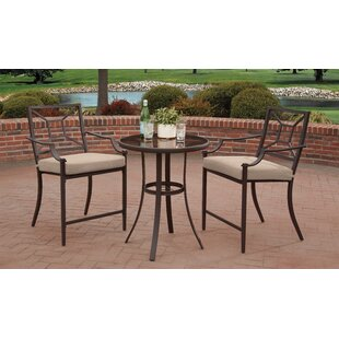 Laredo 3 Piece Bar Height Dining Set by L..