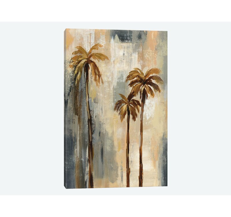 East Urban Home Palm Trees I Graphic Art Print On Wrapped Canvas Wayfair