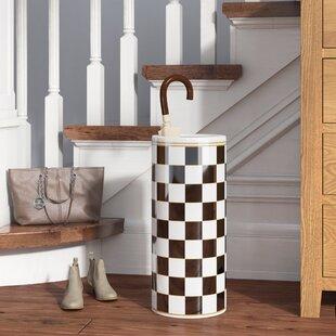 Modern Ceramic Umbrella Stand by Alcott Hill