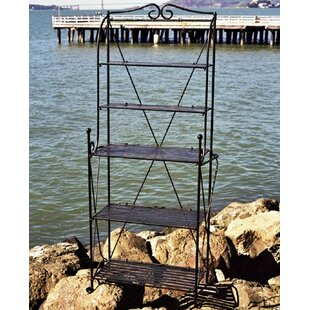 Pangaea Home and Garden Folding Iron Baker's Rack