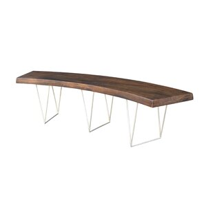 Louison Wood Bench by Brayden Studio