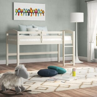 Dupuis Twin Low Loft Bed by Harriet Bee