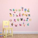 Vinyl Wall Decal Abc Wall Decal Animal Alphabet Decal Nursery Wall Decal Dityacha Dityacha Kimnata Kimnata
