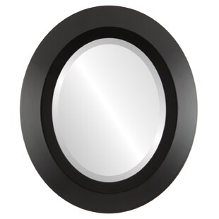 Rowles Framed Round Accent Mirror