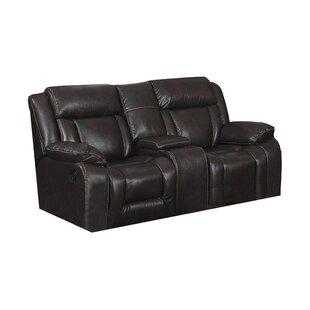 Aisling Recliner Loveseat with Storage Co..