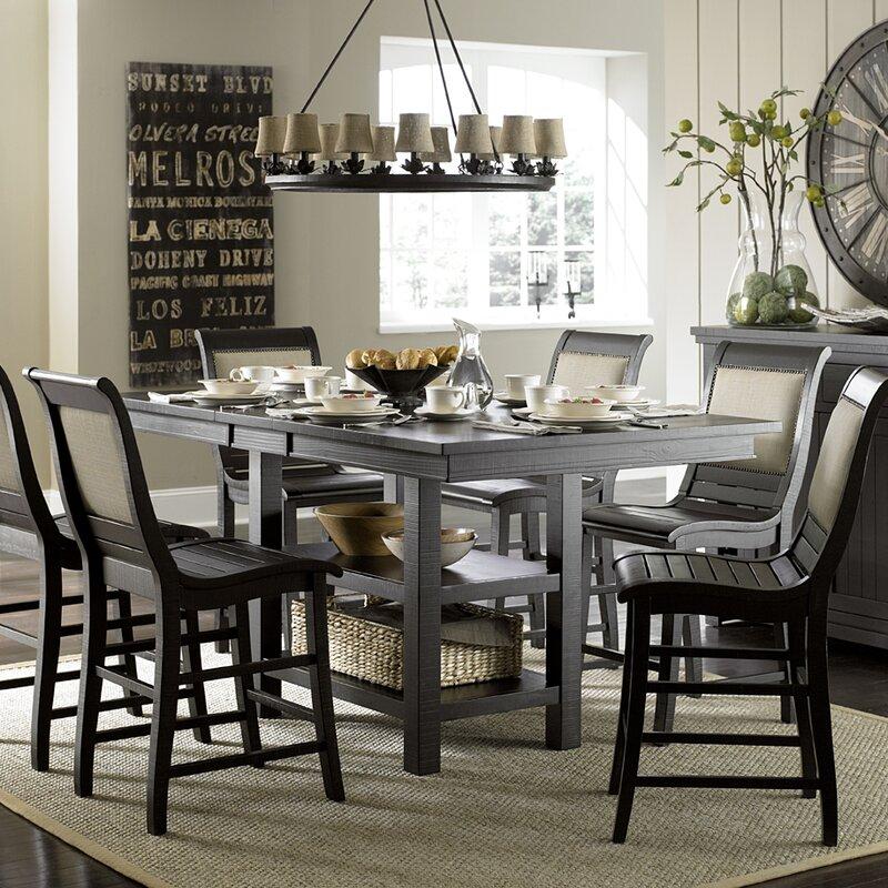 Lark Manor Castagnier Counter Height Dining Table Reviews Wayfair