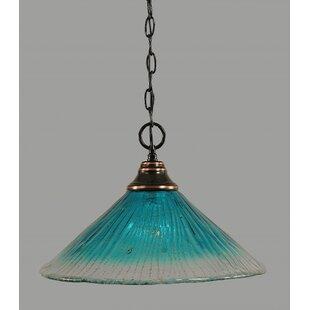 Chula 1-Light Bowl Pendant..