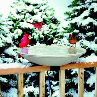 Allied Precision Industries Deck Mount Heated Birdbath