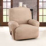 Ultimate Stretch Leather Box Cushion Recliner Slipcover by Sure Fit